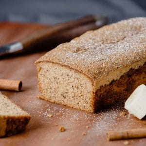 eCommerce Product Photography Banana Bread